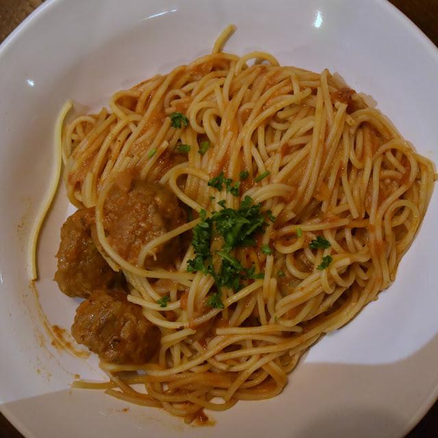 Bella Italia Polpette Americano pasta