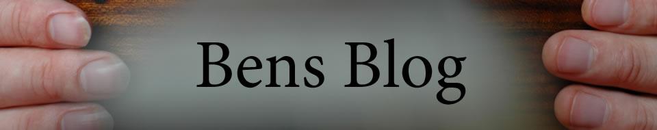 Bens Blog - Woche 1