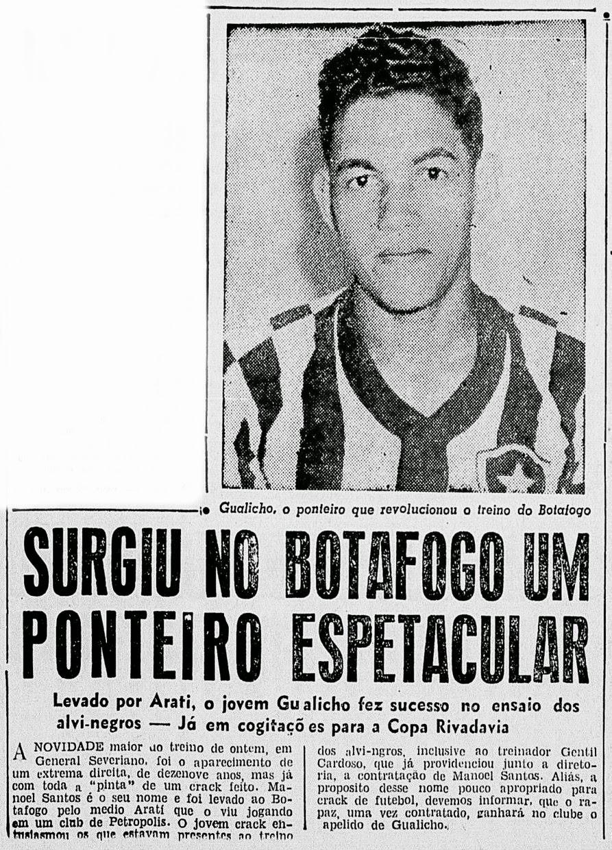 DataFogo o Garrincha chegou e estreou no Botafogo