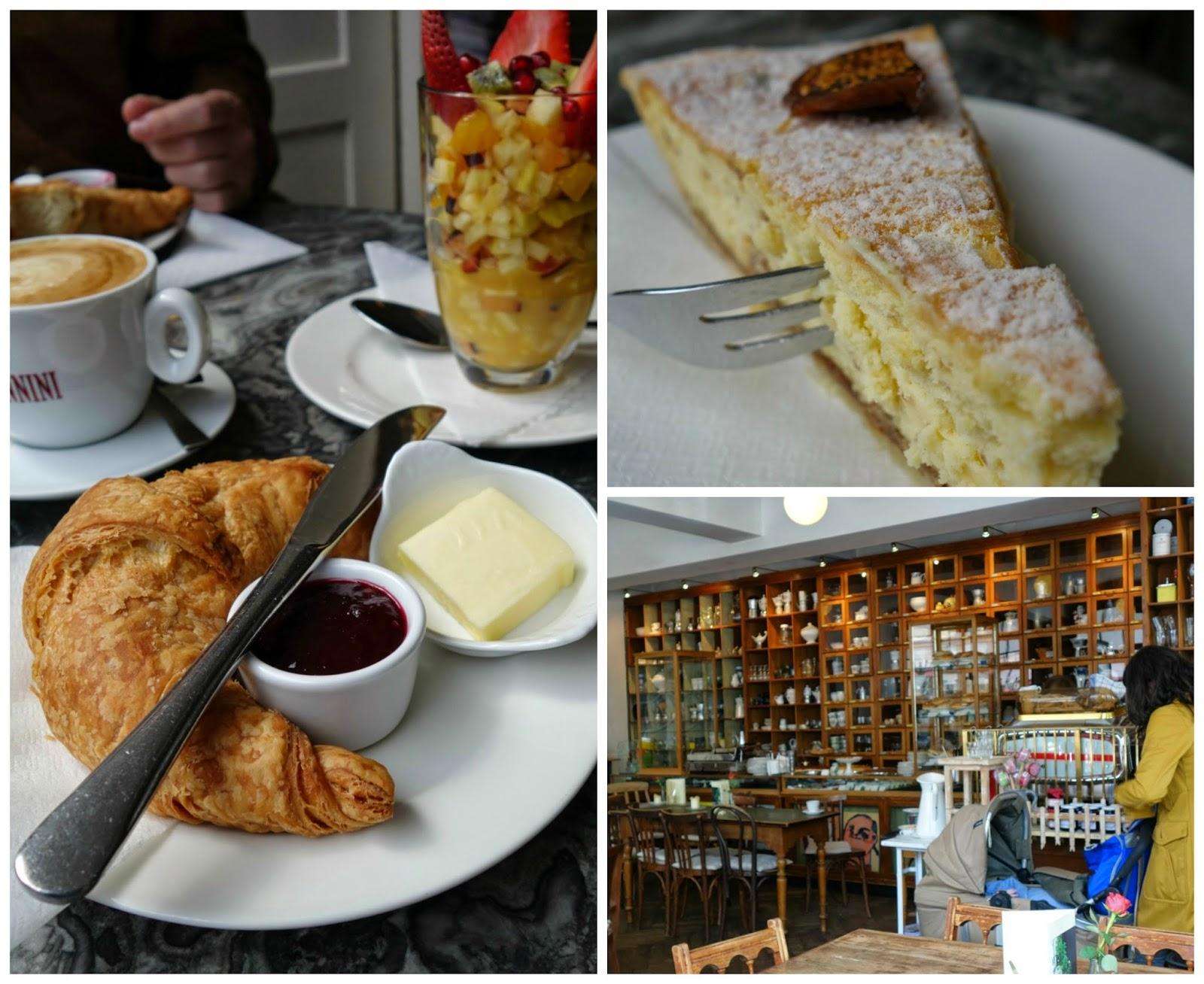 Unterwegs Und Kaffee und Kuchen Kaffee und Kuchen in München Café Marais (Westend)