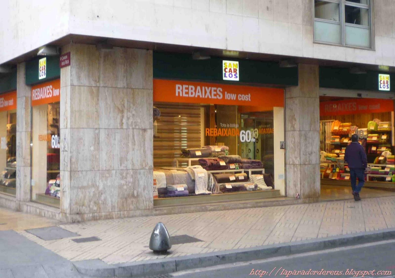 L 39 aparador de reus blog de shopping i lifestyle de reus - San carlos textil ...