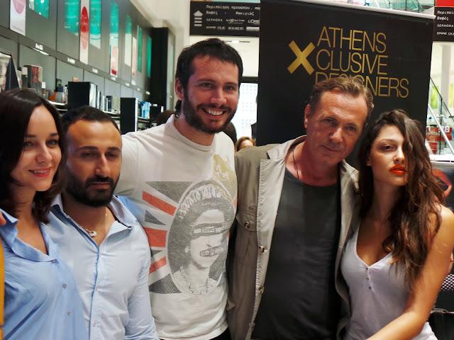 Amalia Konstantakopoulou, Antonis Spathas, Konstantinos Mitrovgenis, Freddy Kalobratsos, Nafsika Panagiotakopoulou.