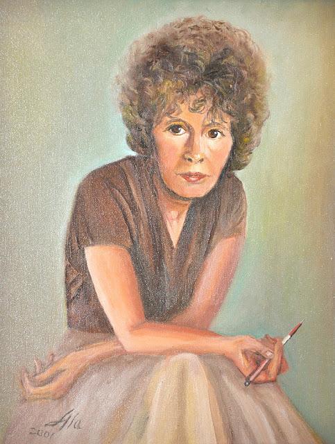 Alina Sala - portret poetki Henryki Maćkowskiej.