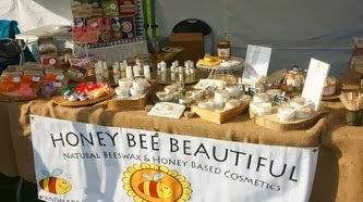 Honey Bee Beautiful Trade Stand