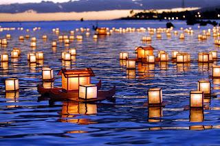 Brodovi za duše. Festival mrtvih u Japanu.
