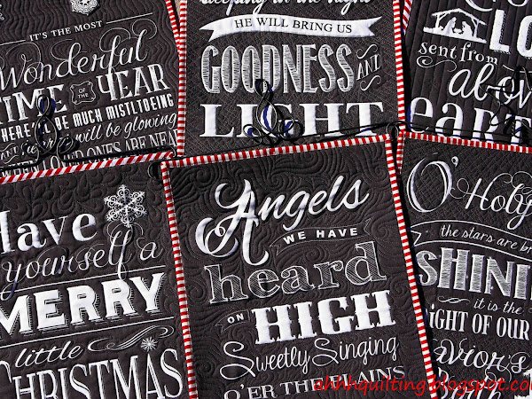 Chalkboard Christmas Wall Hangings