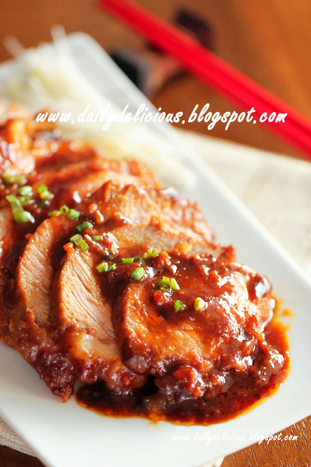 Dailydelicious easy cooking microwave japanese grill pork easy cooking microwave japanese grill pork forumfinder Image collections