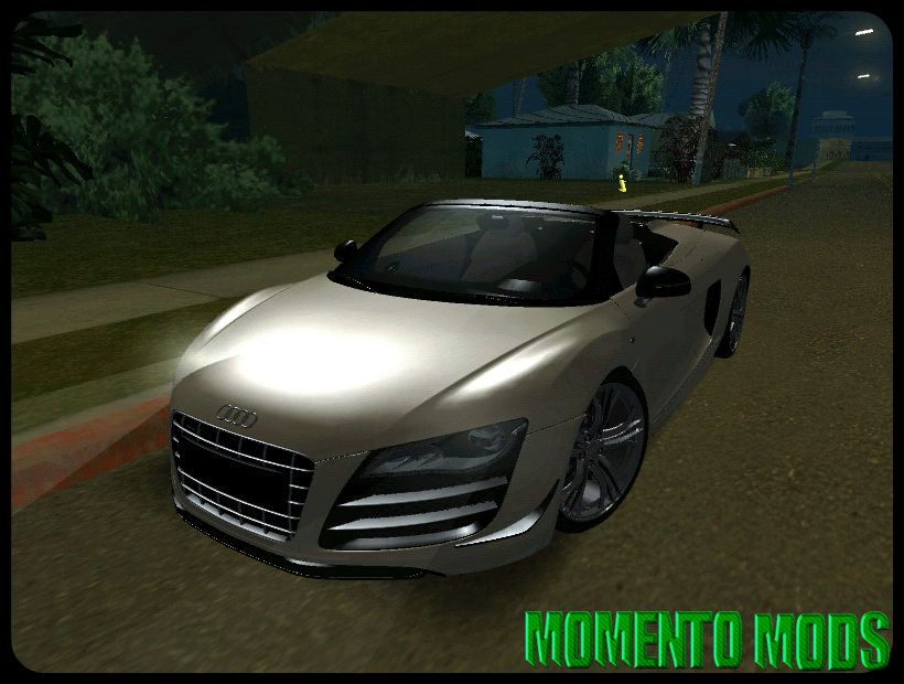 GTA SA - 2012 Audi R8 GT Spyder