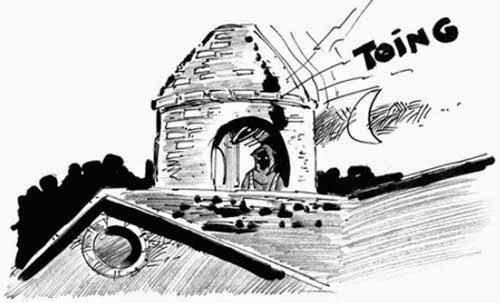"""El """"Cura sin rostro"""" regresa al campanario de una iglesia tarijeña"""