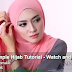 simple  Hijab Tutorial - Watch and Share