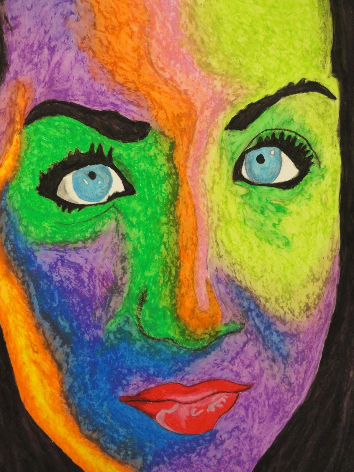 Mr G S Studio1 Blog Fauve Portrait