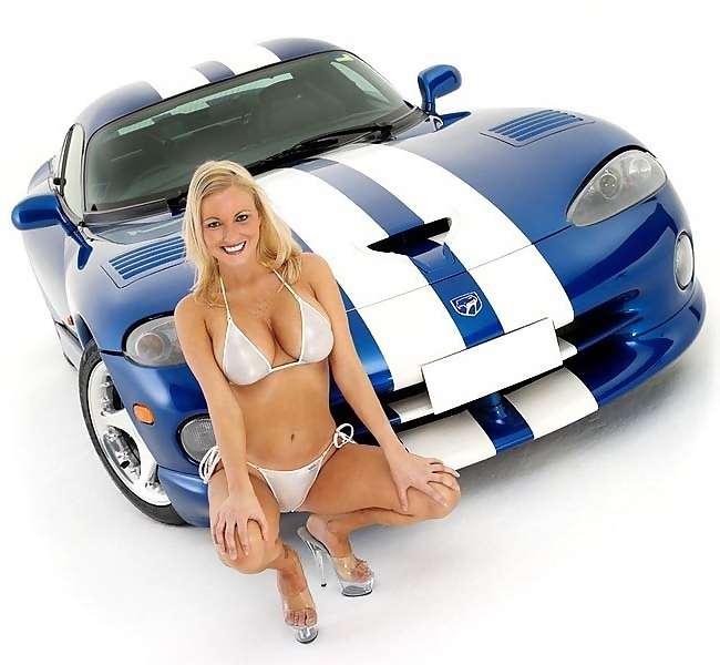 Gorgeous Girls With Gorgeous Cars Car Wash Bikini