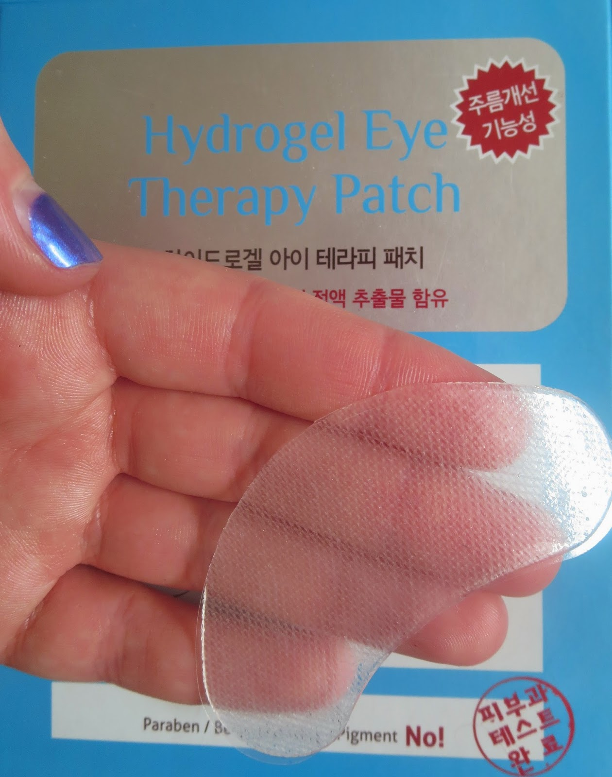 A picture of Leaders Hydrogel Eye Therapy Patch