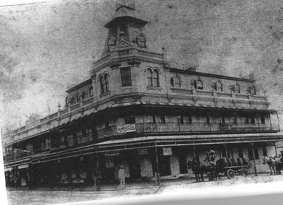 Royal Exchange Hotel Marrickville C1890s
