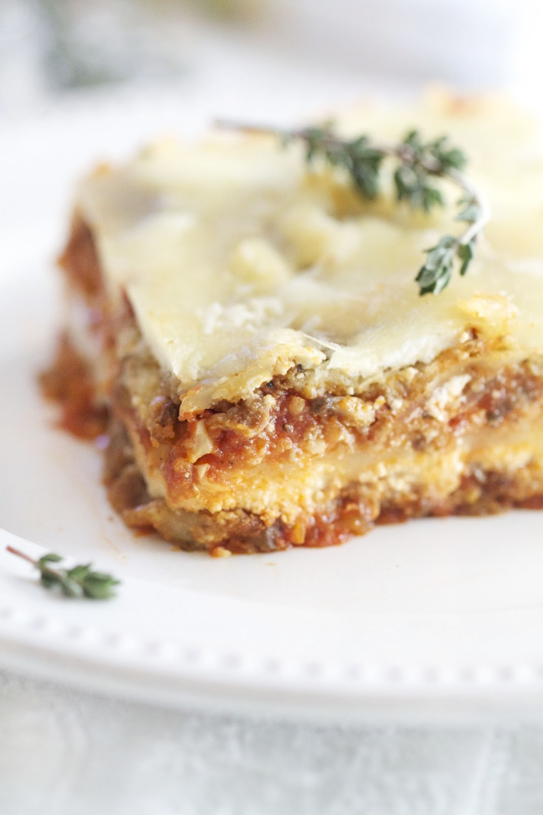Epicurean Mom: Eggplant Parmesan