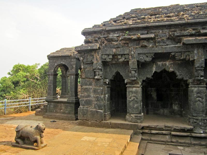 Krishna Temple with Nandi