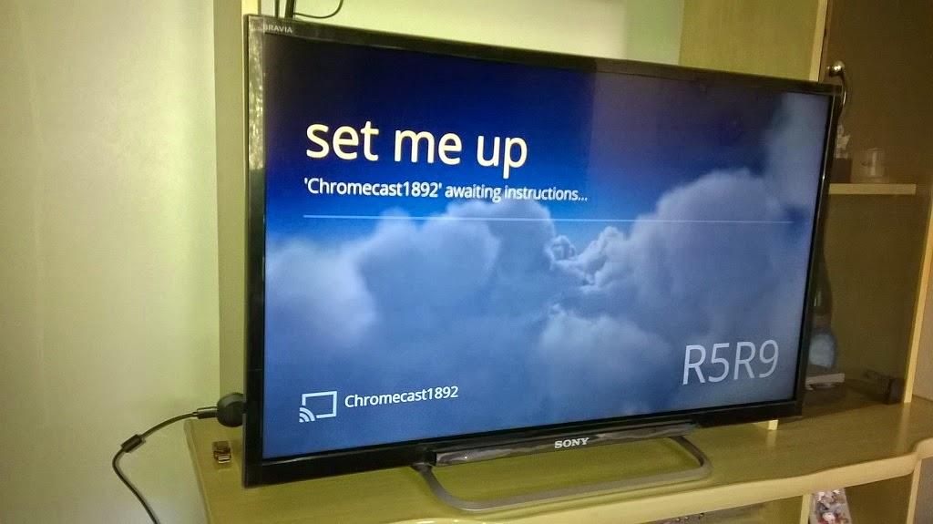 google chromecast configuracao tv 2