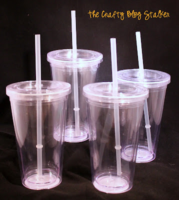 Straw Cup Teacher Gift