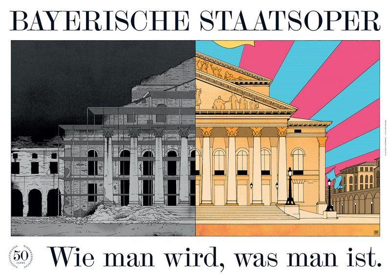 ©Stefan Glerum - National Opera of Munich | Bayerische Staatsoper. Ilustración | Illustration