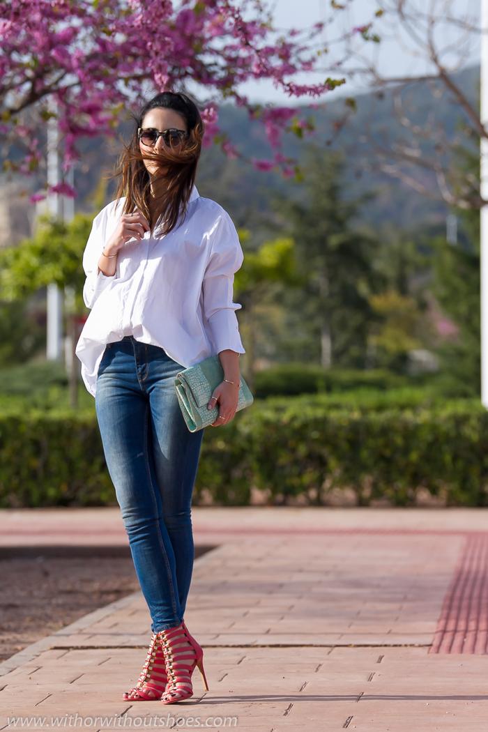 Blogger de Valencia con Look urbano chic