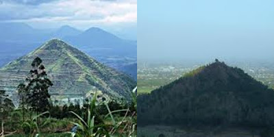 Fenomena Piramida Garut di Indonesia