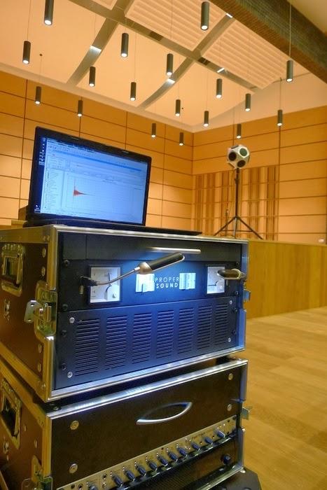 Stanowisko do pomiaru parametrów akustycznych wnętrza