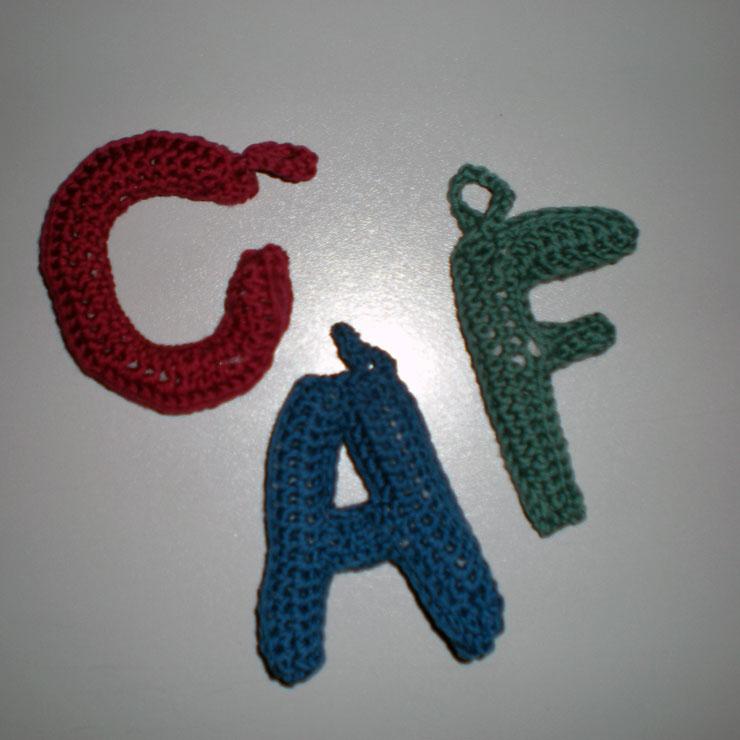 Las manuelidades: Alfabeto de ganchillo - Crochet alphabet