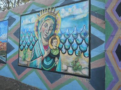 Santa Fe river mural