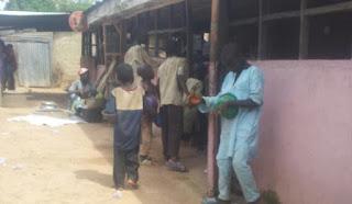 Almajiri boys in the northern Nigeria