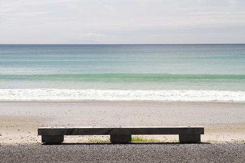 Horizontal Lines beach
