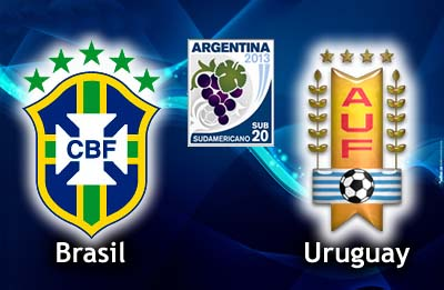 Brasil vs Uruguay | Sábado 12 de enero 2013 | Sudamericano Sub 20 Argentina Online
