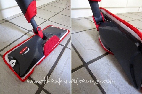 Rubbermaid Reveal Spray Mop review