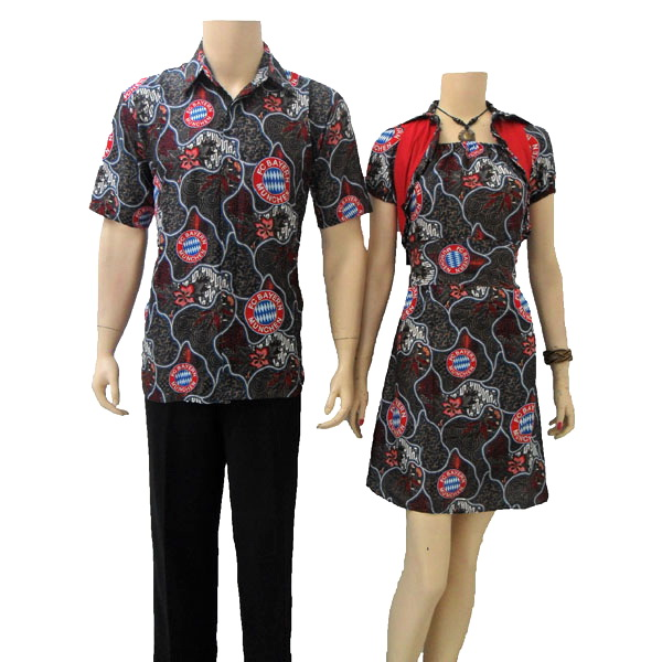 MODEL BAJU DRESS BATIK MODERN WANITA 2014