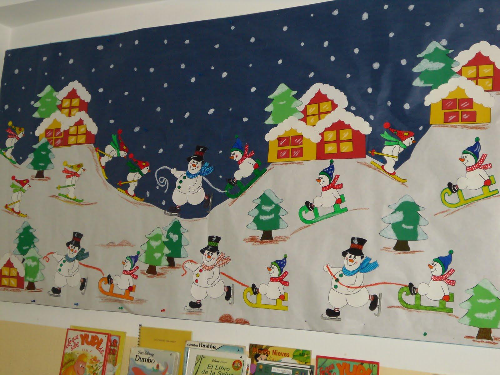 La revista del miguel hern ndez marzo 2011 - Mural navidad infantil ...