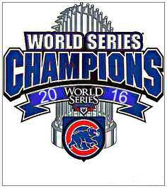 Chicago Cubs - World Series Champions 2016