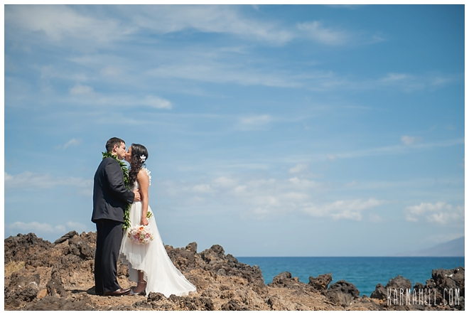 Maui Oceanfront Estate Wedding