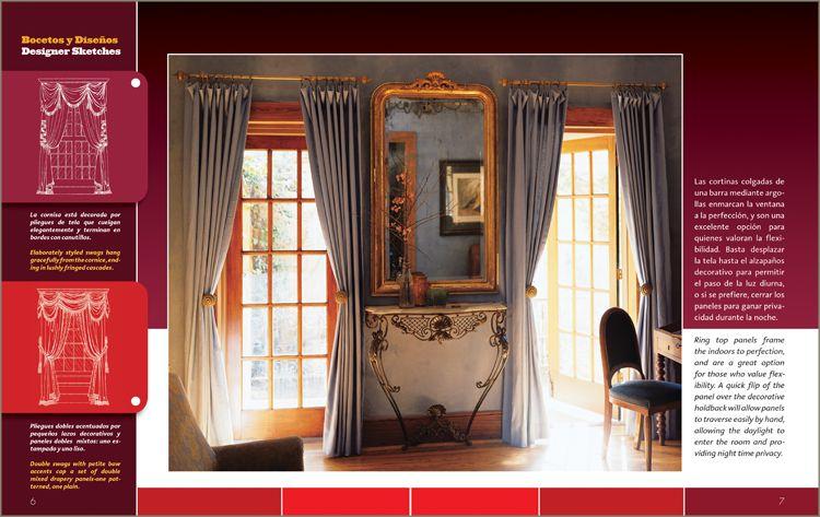 Libros cortinas dise o confecci n decoraci n de interiores for Paginas de decoracion de interiores gratis