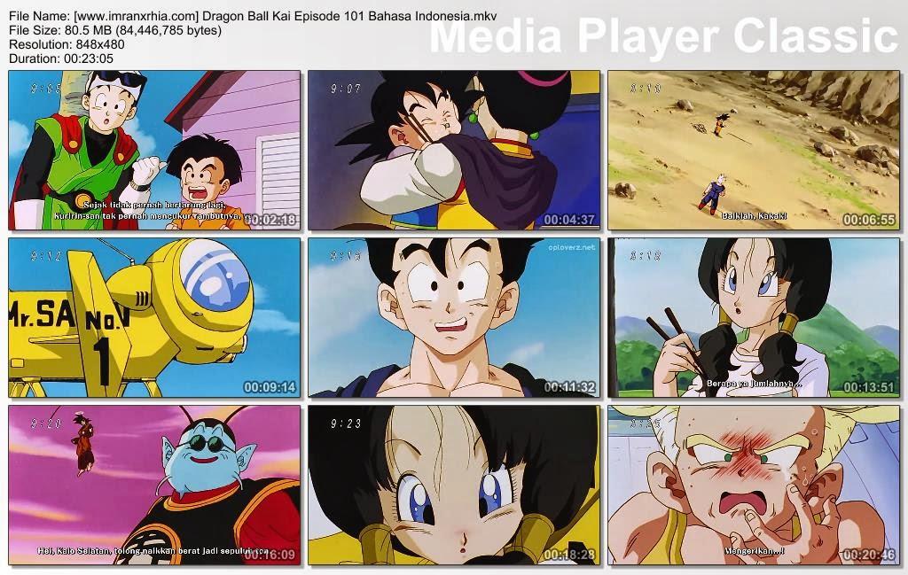 Download Film / Anime Dragon Ball Kai Episode 101 (Gohan Menjadi Seorang Guru! Videl Belajar Terbang) Bahasa Indonesia