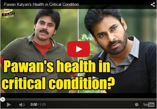 Pawan Kalyan's Health in Critical Condition