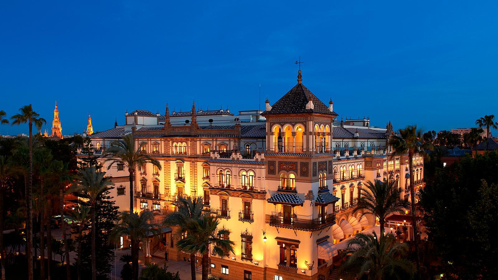 Loveisspeed hotel alfonso xiii seville spain - Hotel alfonso xii sevilla ...