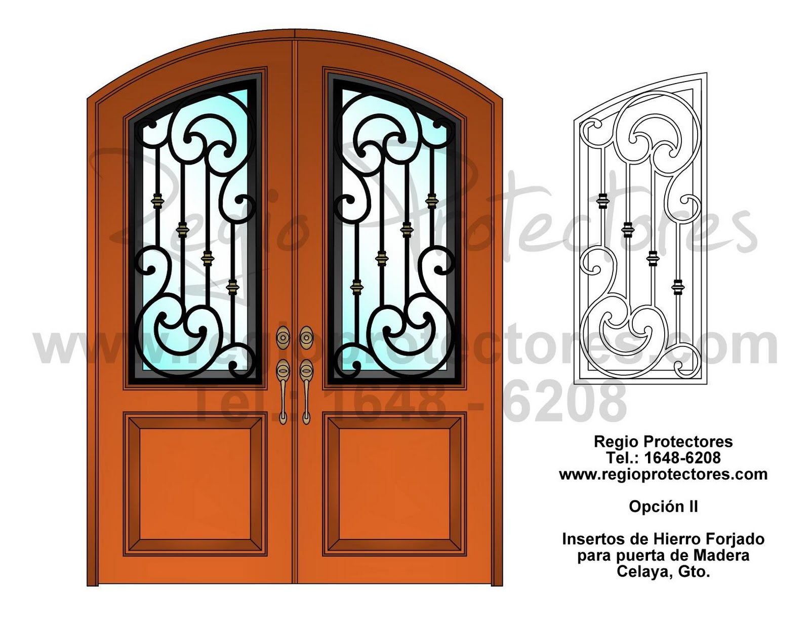 Moderna puerta de madera para la puera principal de una for Puerta principal madera moderna