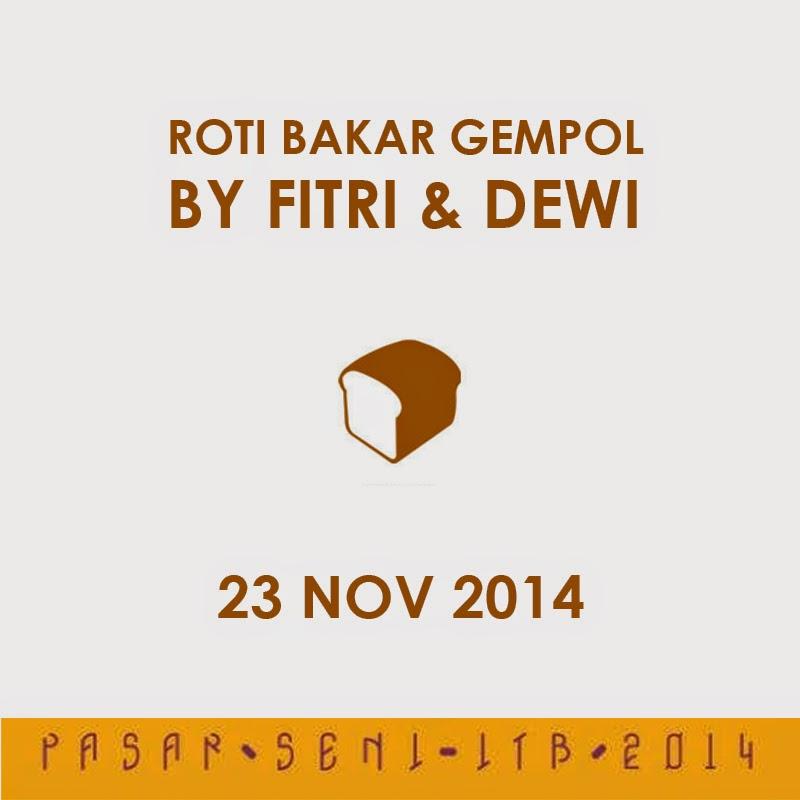 Roti Bakar Gempol 2014 at Pasar Seni ITB