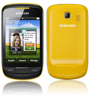 Cara Screen Capture pada Samsung Corby II