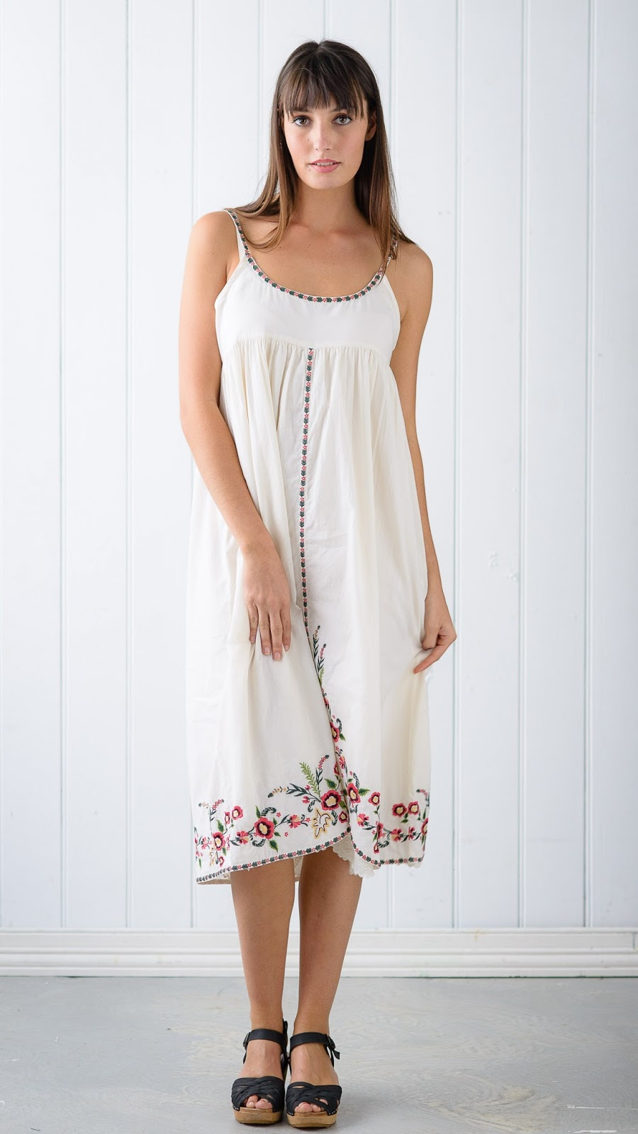 Juliet Dress Ivory