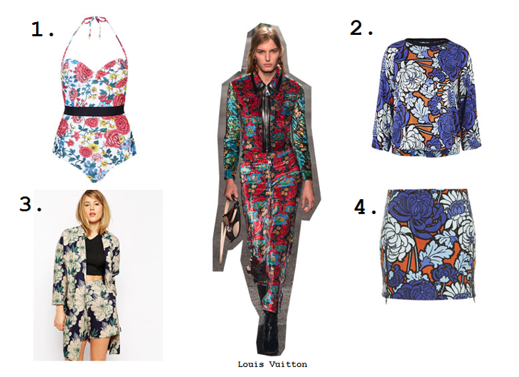 floral trend ss15 high street picks