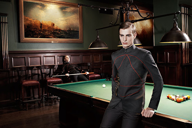 The new 2013 Fall/Winter campaign by top brand Dior Homme...