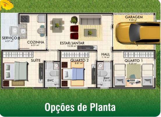 plantas cidade jardim : plantas cidade jardim:Localização: Vizinho ao Condomínio Bella Residence, próximo da