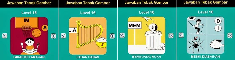 Jawaban Game Tebak Gambar Android Level 16 13-16