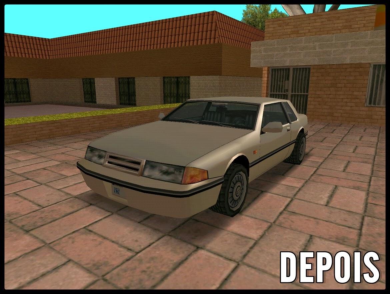 GTA SA - Mod Carros Limpos
