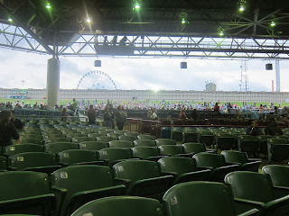 The concert was at the gexa energy pavilion and we had great seats